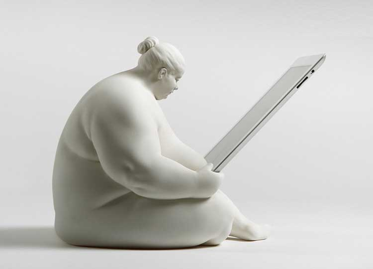 Fat Naked Lady iPad Dock 1