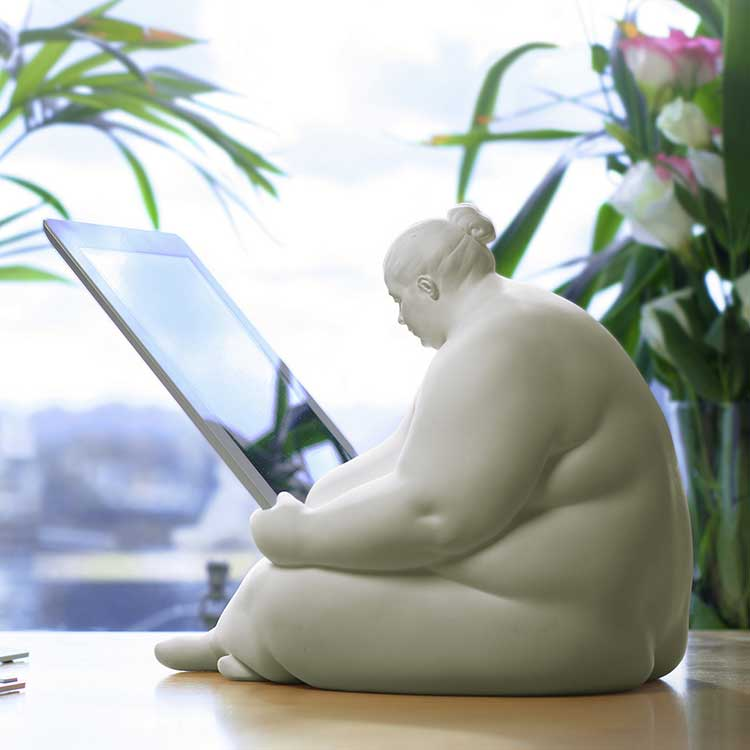 Fat Naked Lady iPad Dock 5