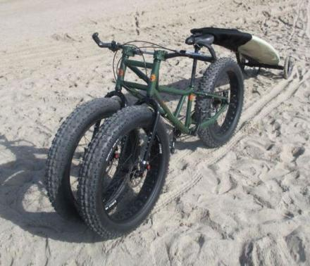 Fat Wheeled All Terrain Trike