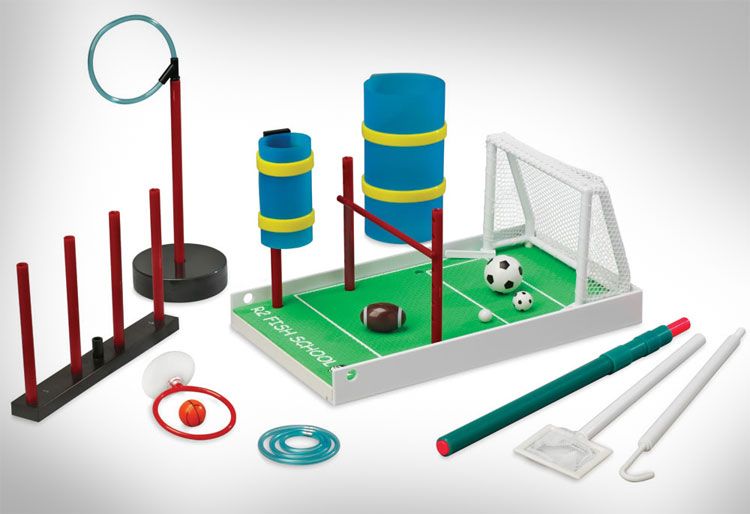 Fish Soccer Field Training Set