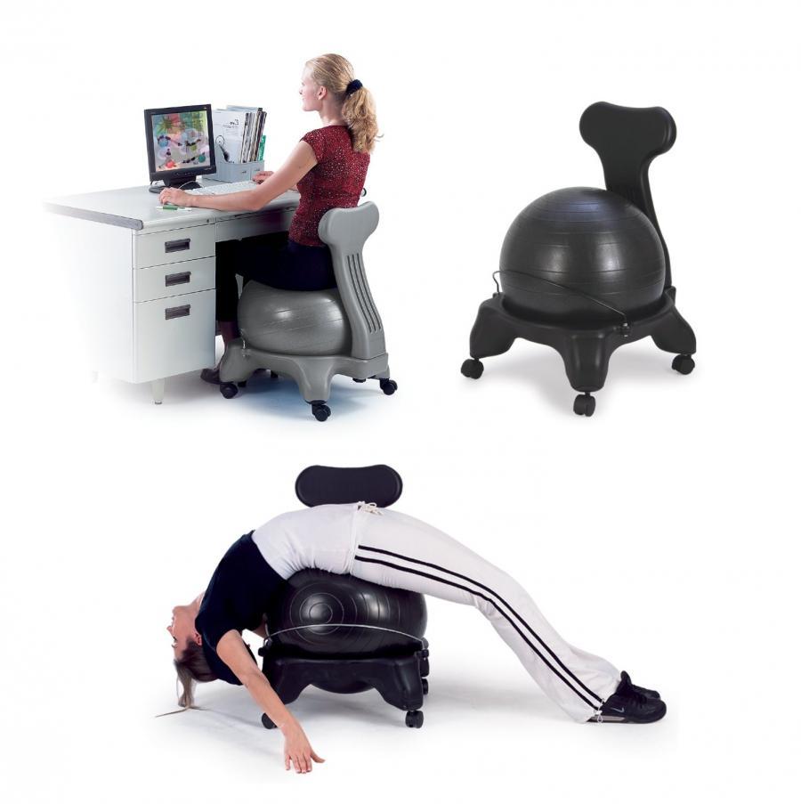 Ergonomic Office Chair Exercise Ball