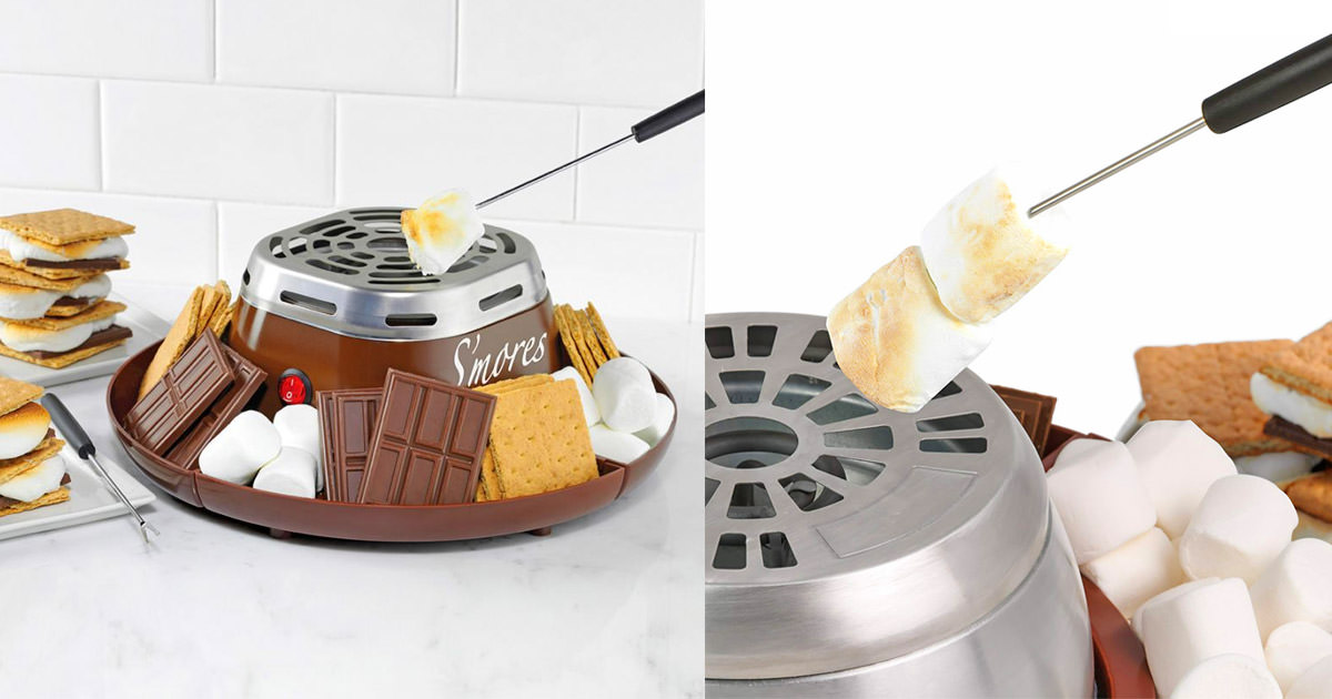 Flameless Marshmallow Toaster Lets You Make S
