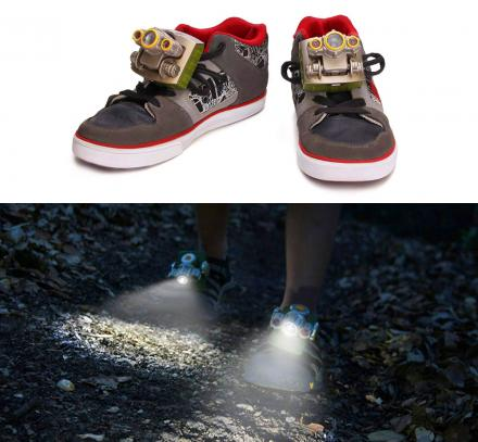 Flashlight Shoes Attachments