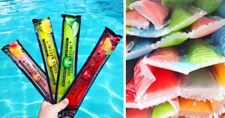 Flavored Vodka Ice-Pops Alcoholic Freezies