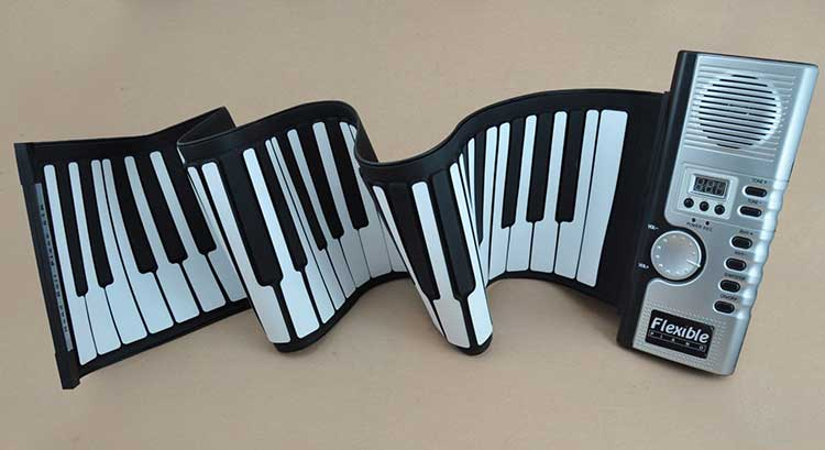 Flexible Rollup Piano Keyboard 1