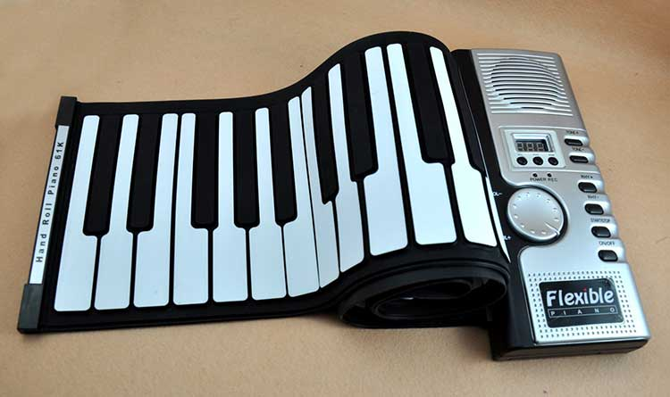 Flexible Rollup Piano Keyboard 3