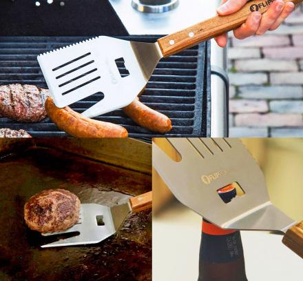 FlipFork: 5-in-1 Cooking and BBQ Spatula