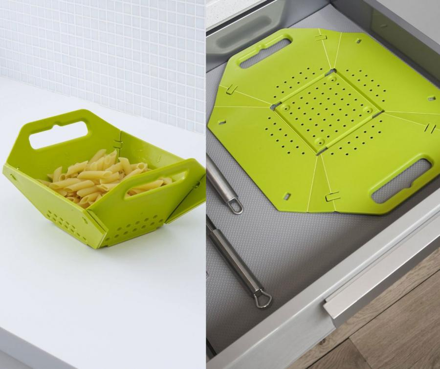 Folding colander for Gadget cucina design