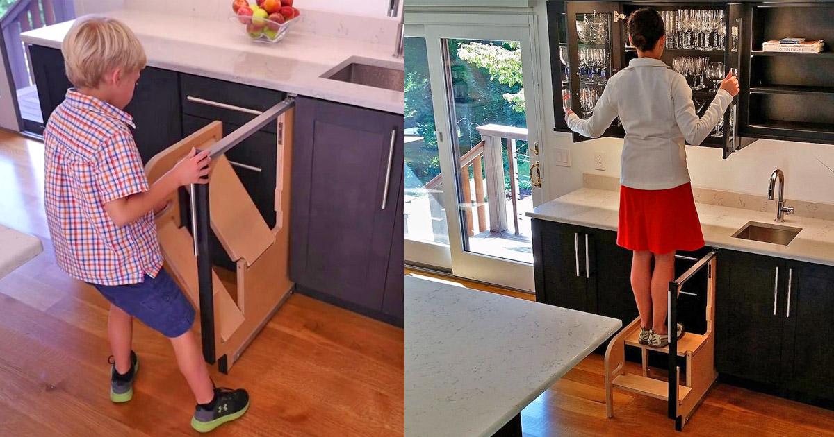 Phenomenal Cabinet Door Step Stool Uwap Interior Chair Design Uwaporg
