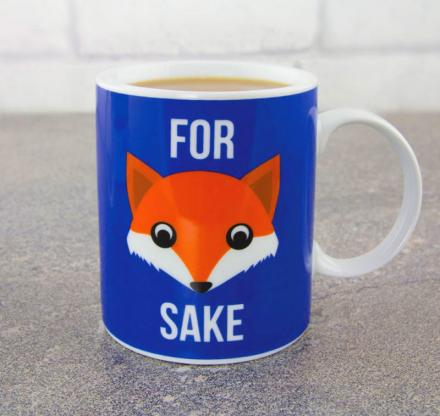 For Fox Sake Coffee Mug