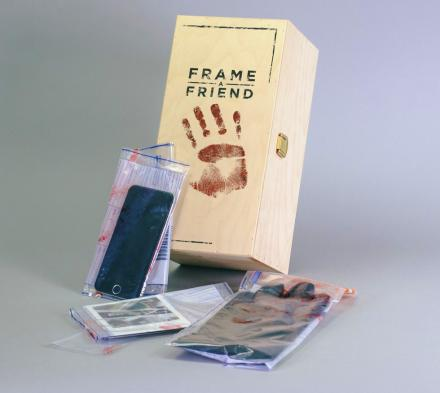 Frame-a-Friend Kit: Random Evidence To Make a Friend Think They Committed a Crime