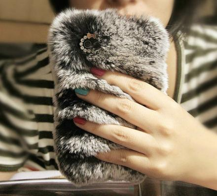 Super Soft Fur Phone Cases