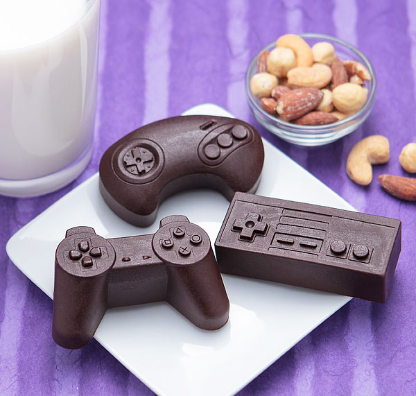 Game Controllers Ice And Chocolate Molds