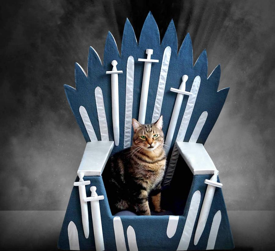 Game Of Thrones Iron Throne Cat Bed