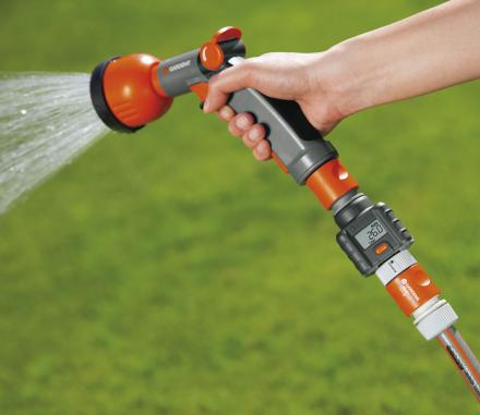 Garden Hose Water Meter Tracks The Amount Of Water You Use