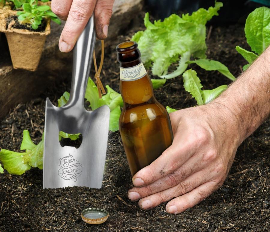 Gardening Trowel Shovel Beer Bottle Opener