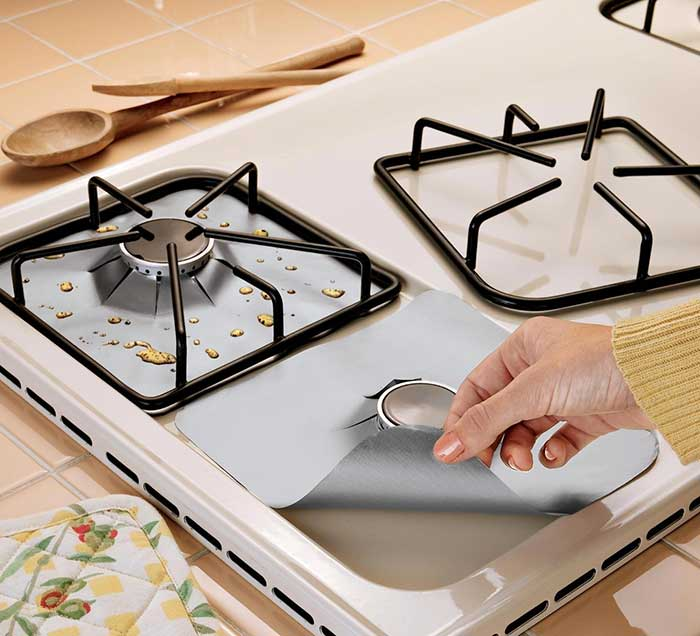Gas Burner Grill Protectors on camping stove grill, electric stove grill, gas range stove grill, cooker gas stove grill,