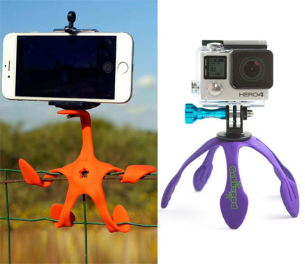 Gekkopod: A Multi-Functional Flexible Mount For Your Phone or Camera