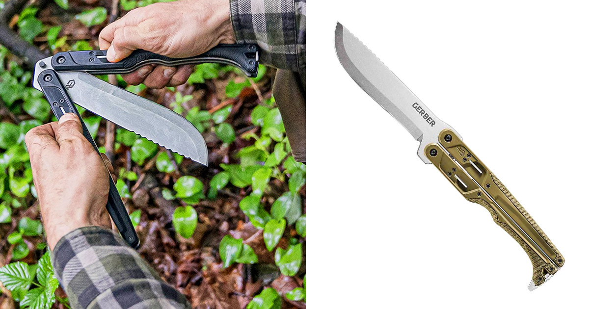 Gerber Has Unveiled a 15 Inch Butterfly-Style Machete That