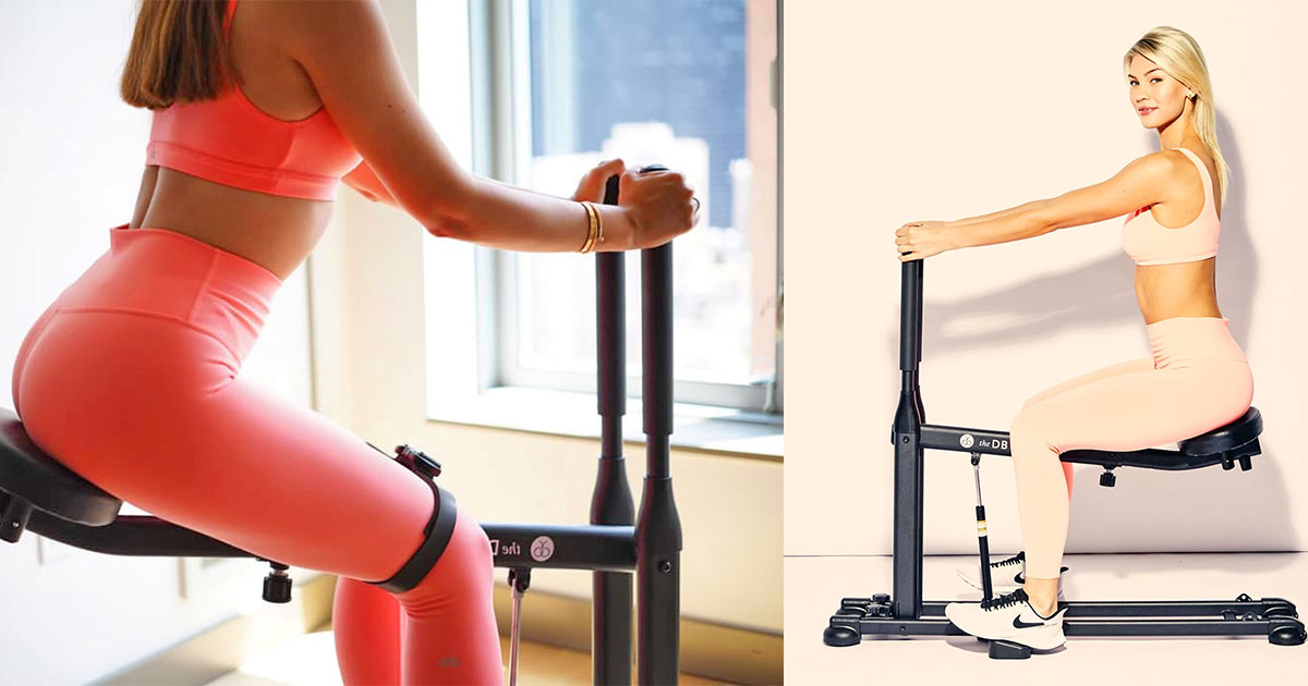 The DB Method Workout Machine Specifically Helps You Sculpt Your Booty