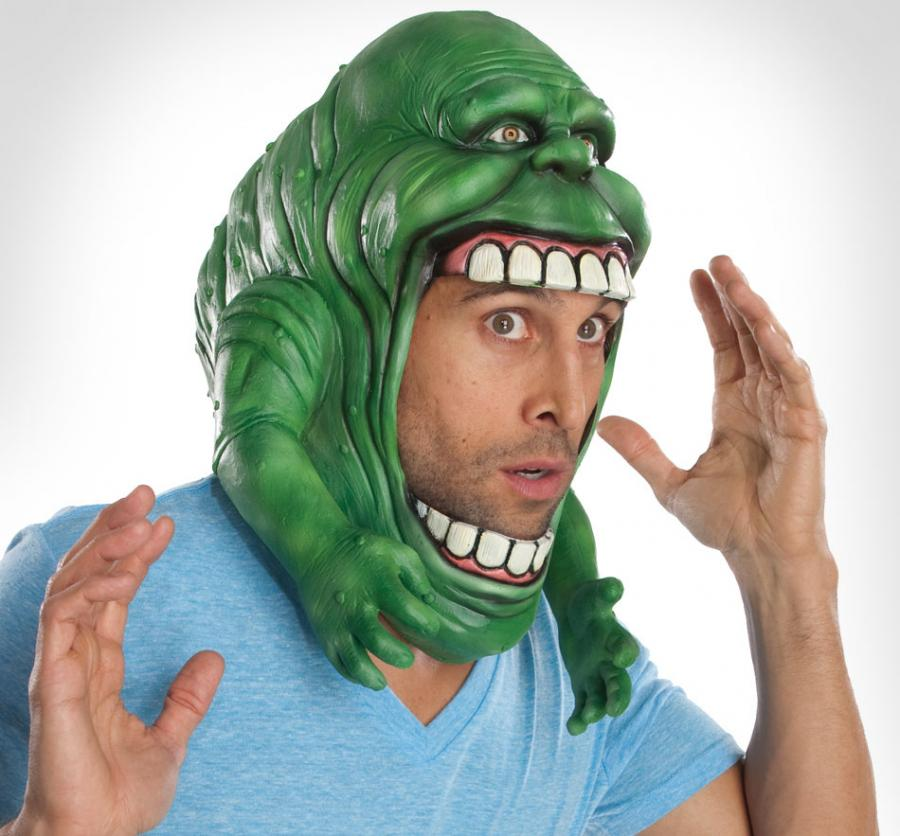 Ghostbusters Slimer Halloween Mask