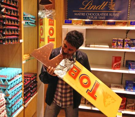 Giant 10 Lb Toblerone Bar