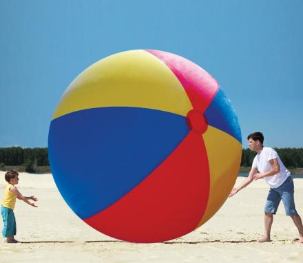 Giant 12 Foot Inflatable Beach Ball