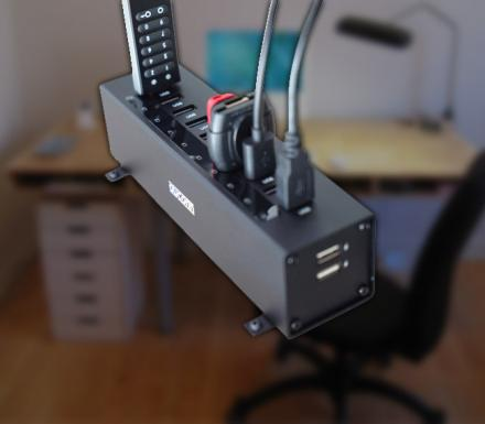 Giant 12-Port Super-Speed USB Hub