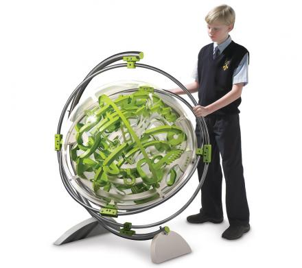 Giant Swiveling 3D Ball Maze Labyrinth Orb