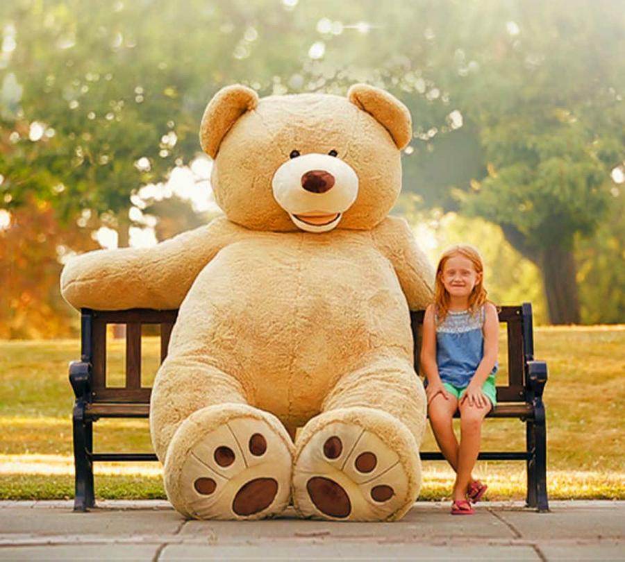 Giant 8 Foot Teddy Bear Enlarge Image