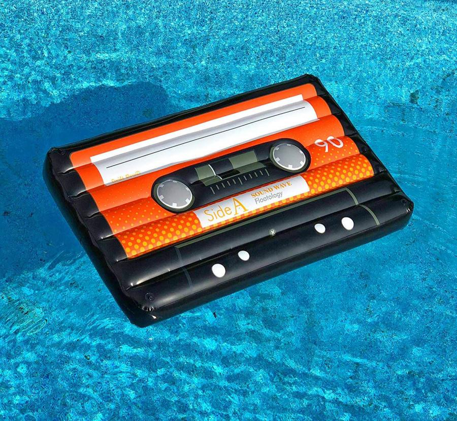 Giant Cassette Tape Pool Float
