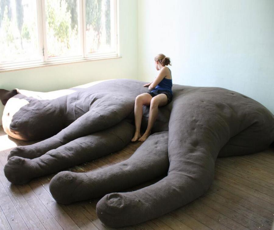 Giant Cat Sofa