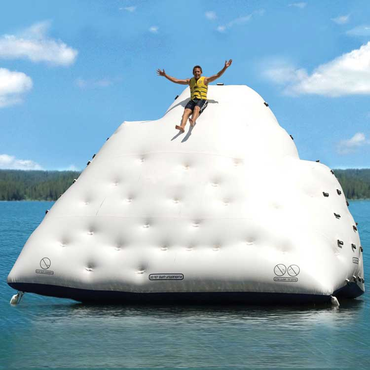 Giant Iceberg Inflatable Climbing Wall 1