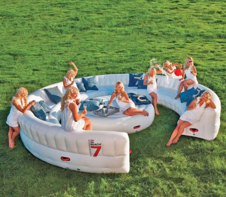 Giant Inflatable Outdoor Circular Couch
