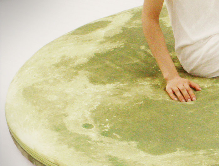 Giant Moon Floor Pillow