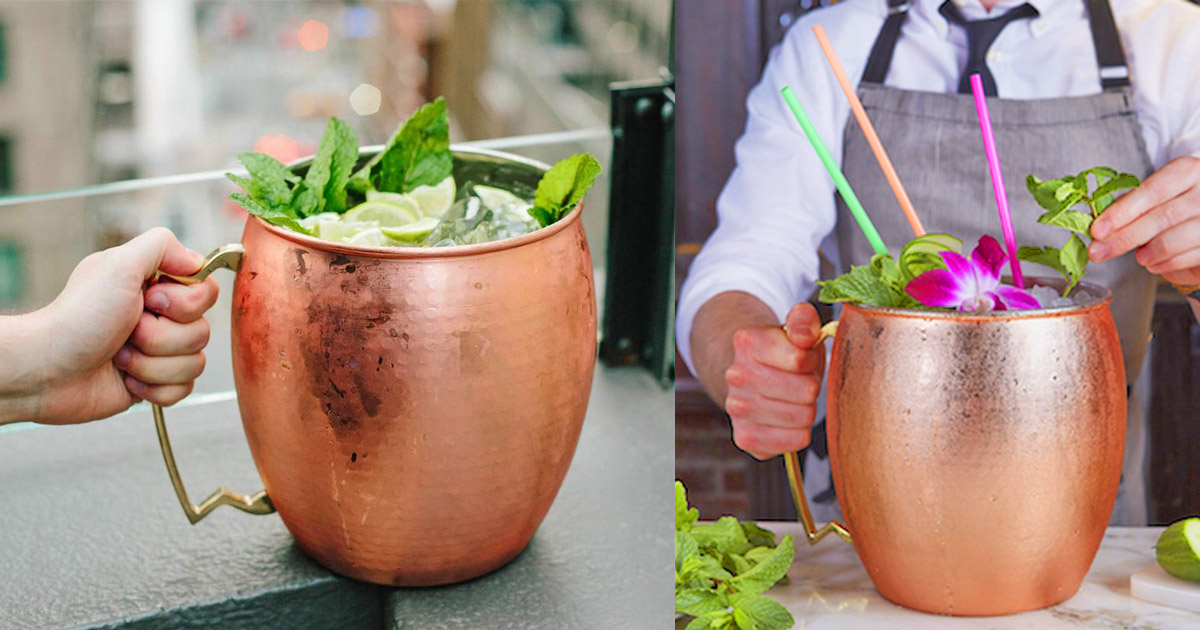 Giant Moscow Mule Mug Holds 1.5 Gallons