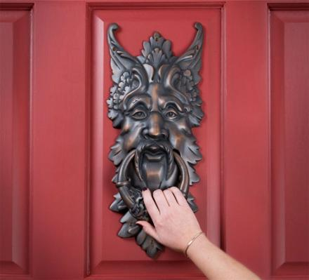 Giant Oberon Solid Brass Door Knocker