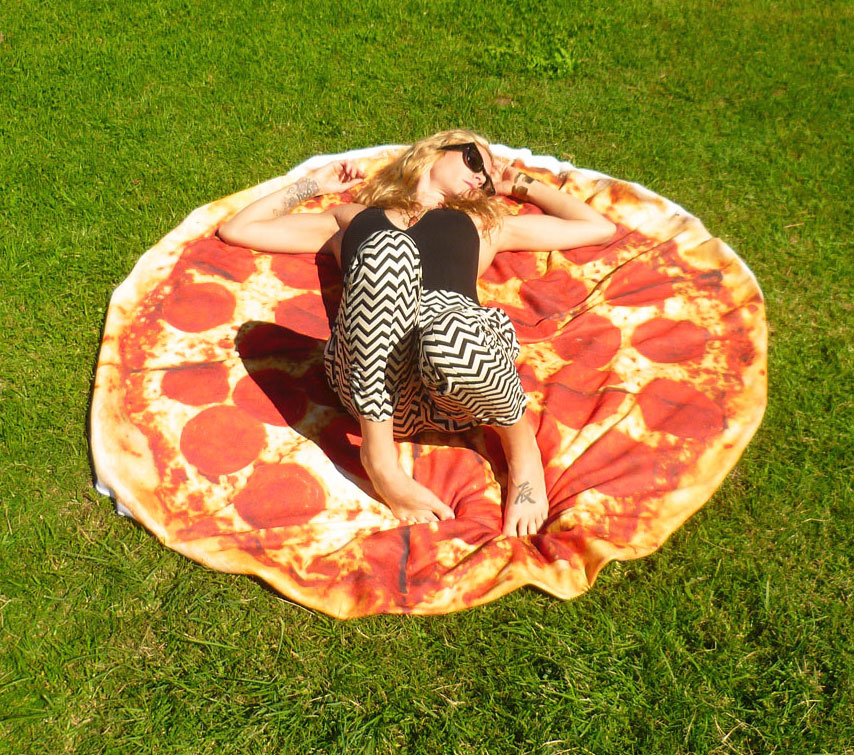 Giant Pizza Towel