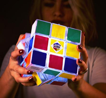 Giant Rubik's Cube Light