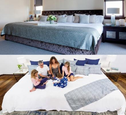 There Are Now Giant Beds That Measure 12 Feet Wide And They'll Fit The Whole Family