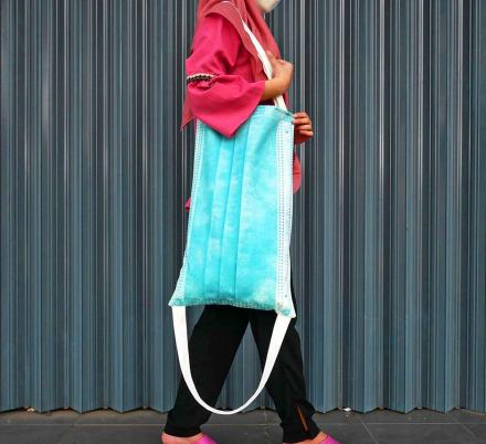 You Can Now Get a Giant Surgical Mask Tote Bag For Your COVID Fashion Needs