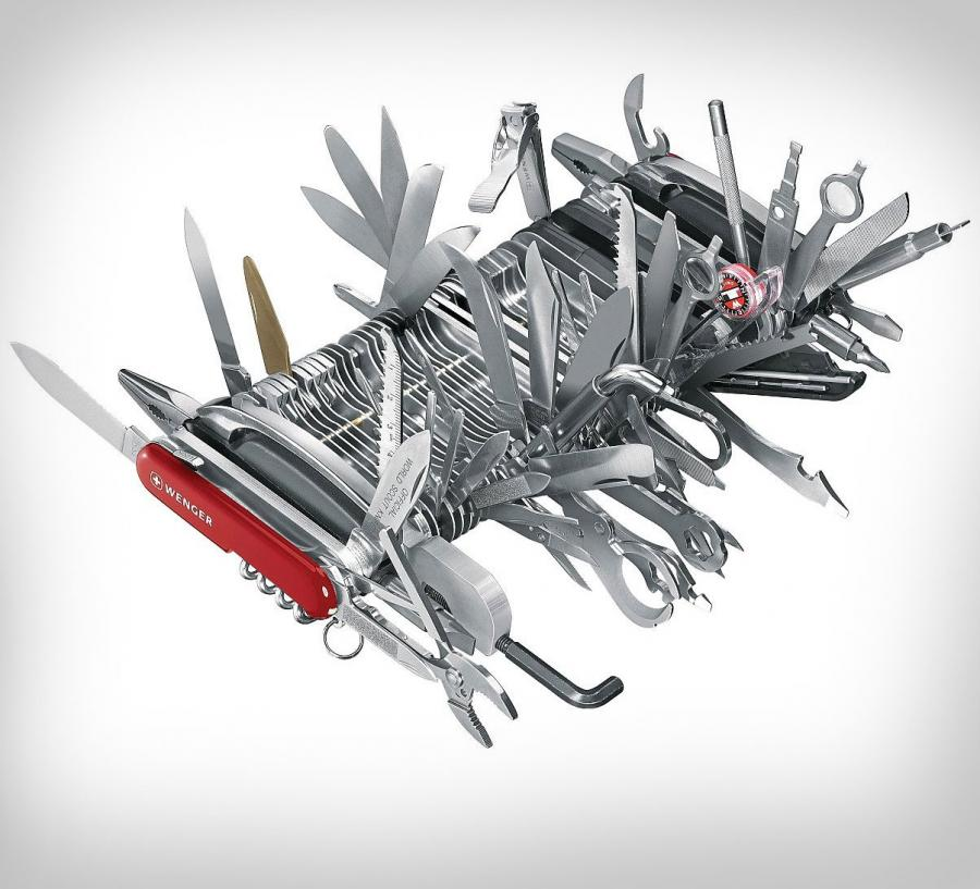 Giant Swiss Army Knife Has 141 Different Functions