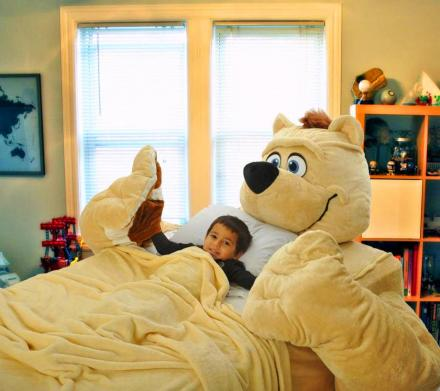 Giant Teddy Bear Bed - Fitted Bed Sheets