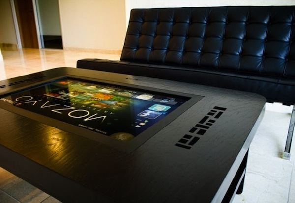 Giant Touchscreen Coffee Table Computer 2