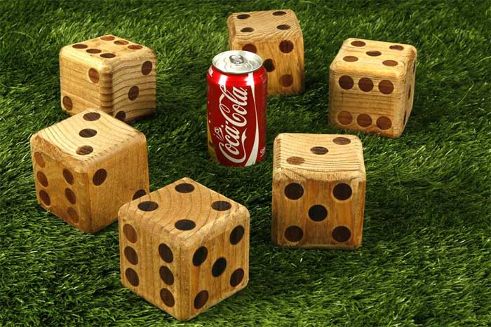 Giant Yard Dice 1