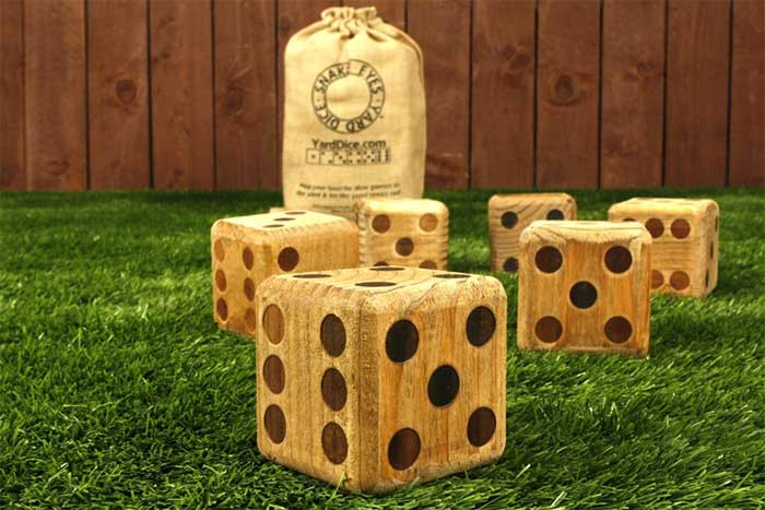 Giant Yard Dice 3