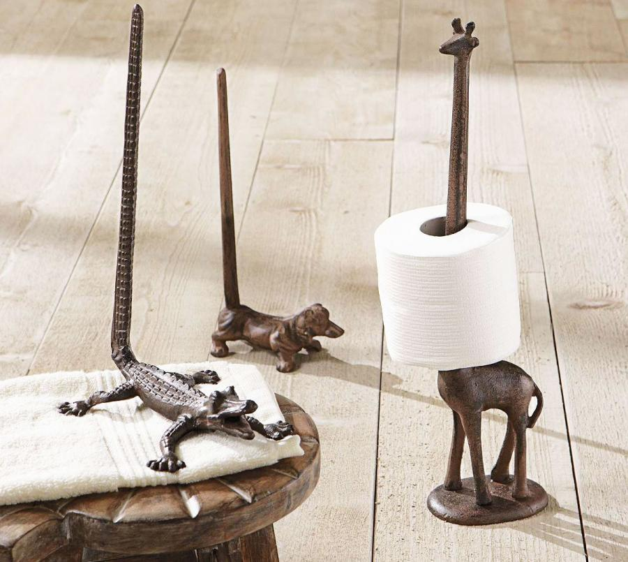 Giraffe toilet paper holder Animal toilet paper holder
