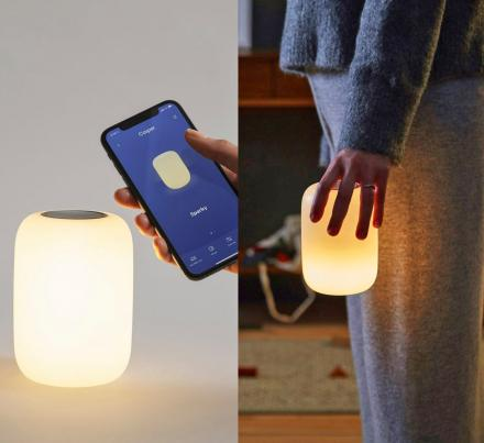Glow Light: Self-Dimming Smart Light Helps You Wind Down and Sleep