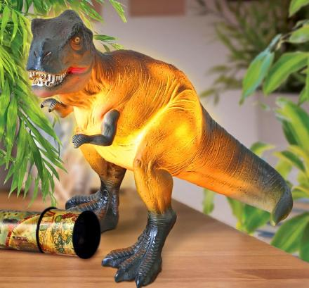Glowing Dinosaur Table Lamp - T-Rex Night-Light