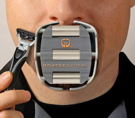 Goatee Saver Helps You Shave a Perfect Goatee Every-Time